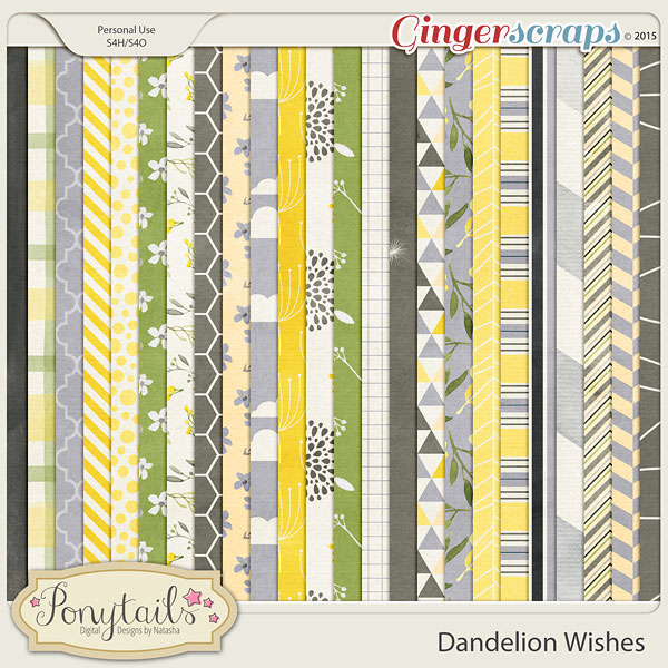 ponytails_DandelionWishes_papers