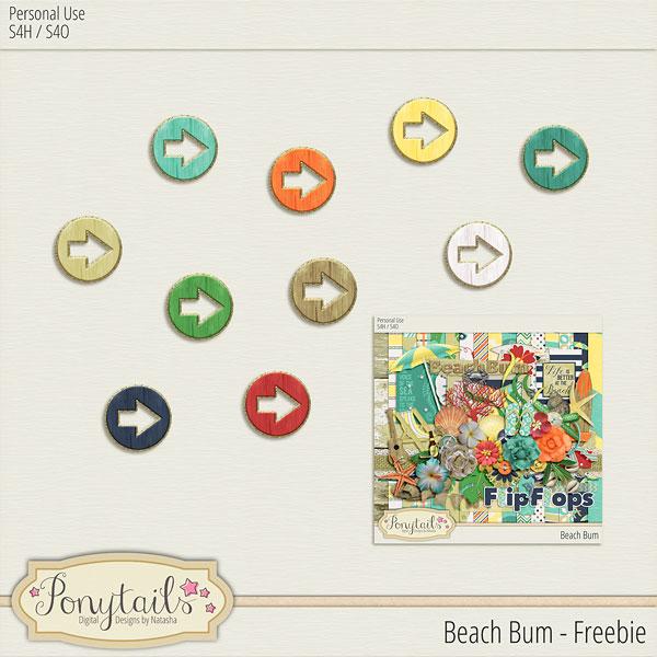 ponytails_BeachBum_miniarrowsfreebie