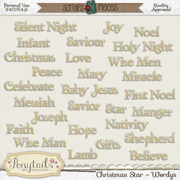 ponytails_ChristmasStar_wordys
