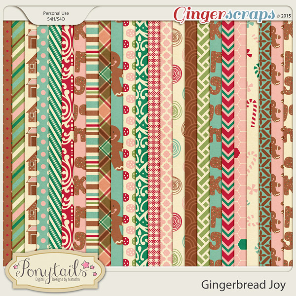 ponytails_GingerbreadJoy_papers