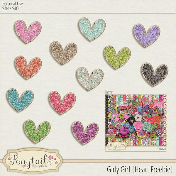 ponytails_GirlyGirl_heartfreebie