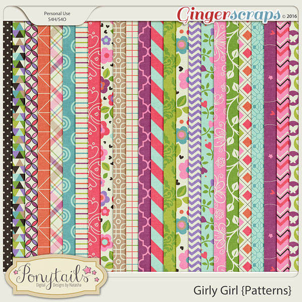 ponytails_GirlyGirl_papers