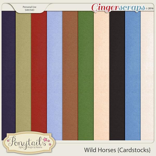 ponytails_WildHorses_cardstocks
