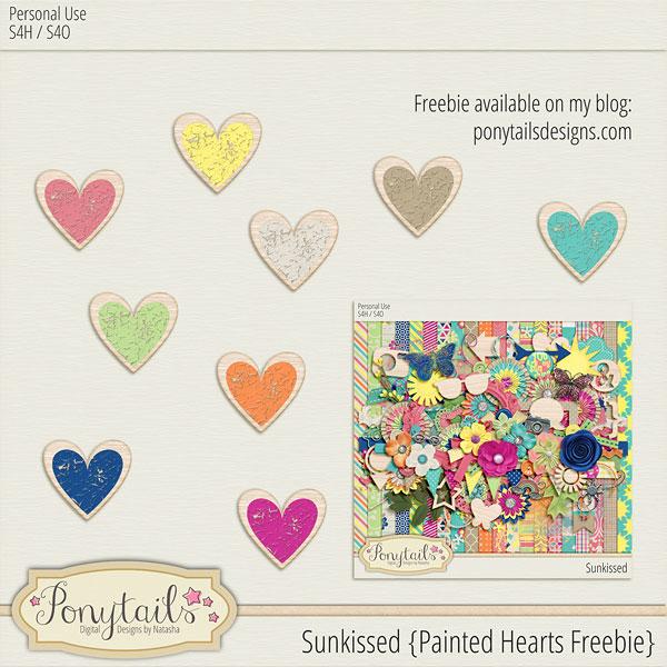 ponytails_Sunkissed_paintedheartsfreebie