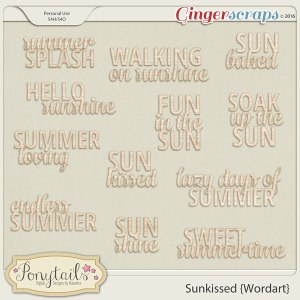ponytails_Sunkissed_wordart