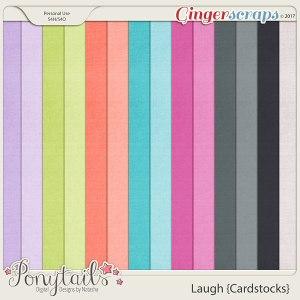 ponytails_laugh_cardstocks