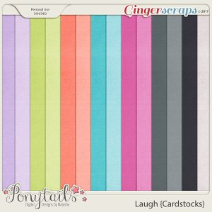 ponytails_laugh_cardstocks